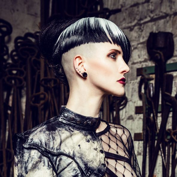 Dark Project Designer Fashion Hair Styling